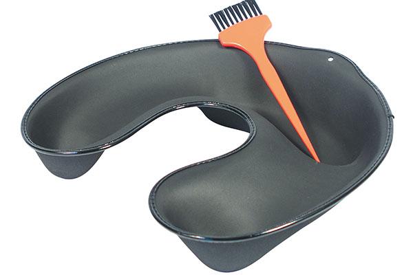 accessoires permanente cuvette de r cup ration cuvette souplinet noire ciseaux de coiffure. Black Bedroom Furniture Sets. Home Design Ideas