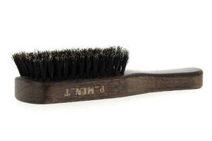 Brosse large en bois d'hêtre et poils de sanglier