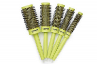 Lot 5 brosses Termix C-Ramic Color Lime
