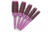 Lot 5 brosses Termix C-Ramic Color Rose
