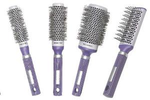 - Lot 4 brosses Rolceramik violet
