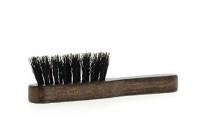 Mini brosse moustache en bois d'hêtre et poils de sanglier