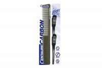 Peigne coupe carbon 17cm + 2 pinces