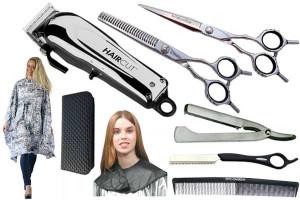 - Set matériel de coiffure n°2 (droitier ou gaucher)