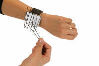 Bracelet magnetic noir