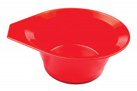 Bol à teinture rouge