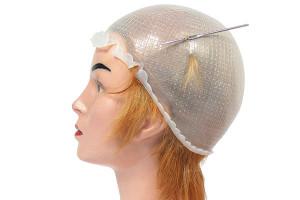 Bonnet mèches silicone taille M