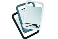 Miroir double face blanc