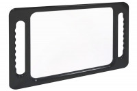 Miroir coiffure Window rectangle noir