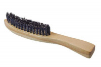 Brosse poils de sanglier pour barbe et moustache