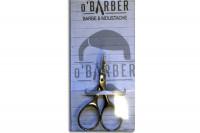 Ciseaux O'Barber pour moustache et barbe PM