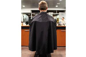 - Peignoir Barbier Flean'up noir
