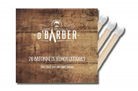 Pochette de 20 allumettes hémostatiques O'BARBER