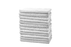 Lot de 12 serviettes barber et manucure blanches