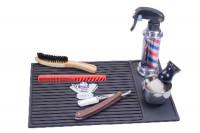 Tapis en silicone pour barbier