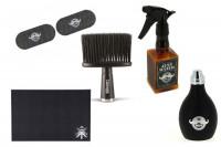 Vaporisateur, balai à nuque et divers accessoires