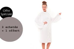 - Lot peignoirs Smart blanc 2 achetés + 1 offert