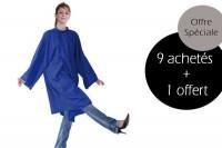 - Lot Fany Bleu 9 achetés + 1 offert
