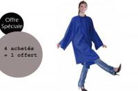 - Lot Fany Bleu 4 achetés + 1 offert