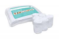 Lot de 6 serviettes blanches pour chauffe serviettes