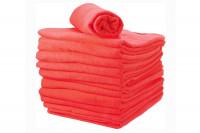 - Lot de 12 serviettes coton fushia