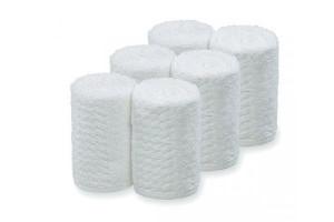 Lot 6 serviettes blanches pour chauffe serviette