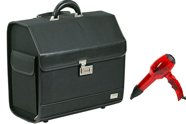 rangement coiffure bagagerie coiffure sac. Black Bedroom Furniture Sets. Home Design Ideas