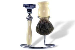 Ensemble de rasage de la maison du barbier