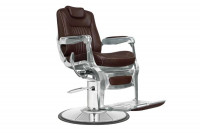Fauteuil barbier Gentleman marron