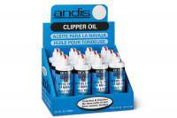 Présentoir 12 burettes d'huile pour tondeuses Andis