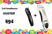 Duo Tondeuses coupe et finition Kuster