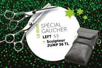 - Ciseaux duo gaucher Left55 + Jump36 TL